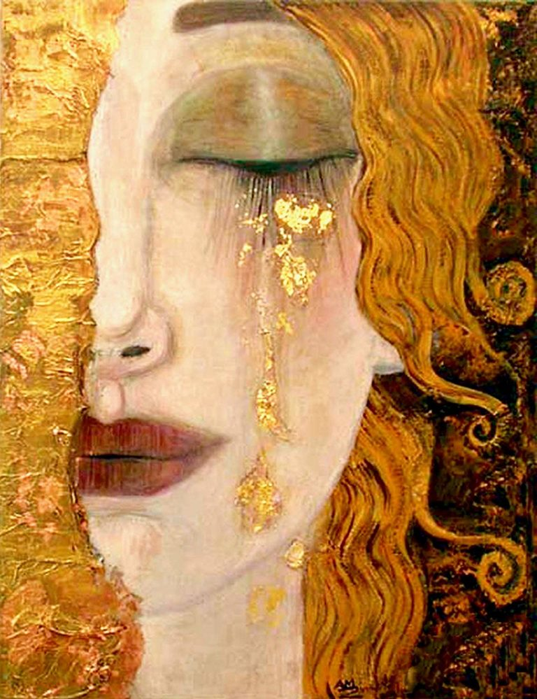 klimt larmes d'or peur du rejet